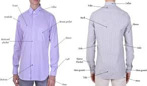 mens dress shirt measurement guide with size chart fashion2apparel