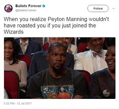 espys meme field day as peyton manning roasts kevin durant daily
