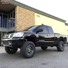 nissan titan with rims nissan titan xd series xd795 hoss wheels gloss black machined