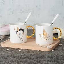 Gold Coffee Mug Aliexpress Com Buy 11oz Ceramic Real Gold Coffee Mug With Gold