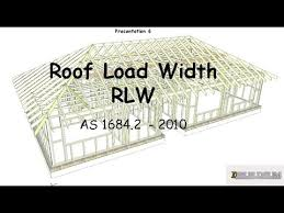 Hip Roof Measurements 6 Roof Load Width Rlw Youtube
