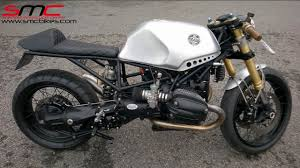 bmw motorcycle cafe racer bmw r1150 based cafe racer custom bike youtube