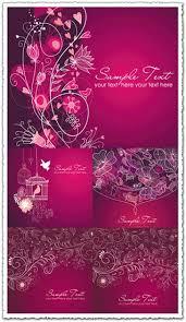 Purple Wedding Invitations Wedding Invitation Vectors