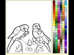 parrots coloring pages parrots coloring pages for kids parrots coloring pages youtube