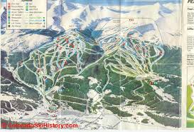 Colorado Ski Map by History Of The Breckenridge Ski Area