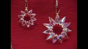 crystal christmas ornaments youtube