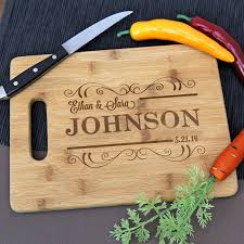 personalized engraved cutting board engraved cutting board