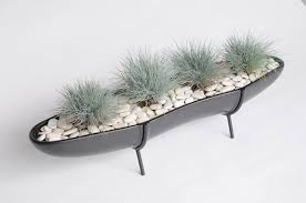 Planter With Legs by Chateau360 U2014 Architectural Pottery F 307 Mini Peanut Planter