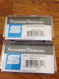 seymour duncan phat cat pickup set p90 in humbucker size reverb