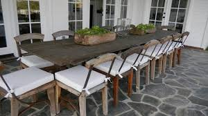 lofty idea rustic outdoor dining table wood patio furniture make