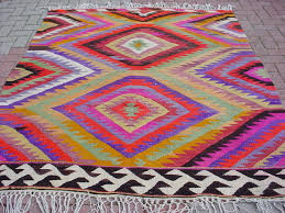 Colorful Kilim Rug Inspired Design Current Obsession Colorful Kilim Rugs