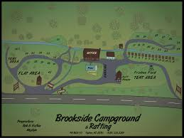nantahala river map brookside cground rafting nantahala river nc great smoky
