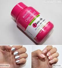 photo review bourjois magic nail polish remover
