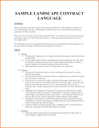 Tree Trimmer Resume 8 Employee Contract Musician Resume Landscaping Template Pdf 4