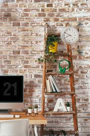 Faux Brick Kitchen Backsplash by Best 25 Brick Wallpaper Ideas On Pinterest Walls Brick