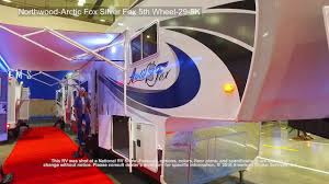 northwood arctic fox silver fox 5th wheel 29 5k youtube