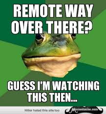 Bachelor Frog Meme - foul bachelor frog remote way over there my life pinterest