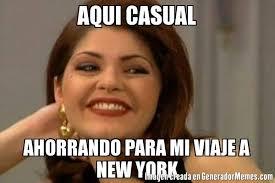 Memes New York - aqui casual ahorrando para mi viaje a new york meme de navidad