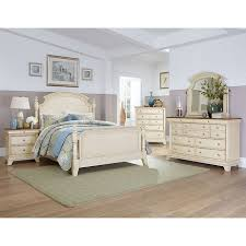 inglewood ii panel bedroom set antique white homelegance
