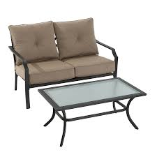 Settee Cushion Set by Shop Patio Furniture Sets At Lowes Com