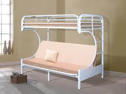 White Metal Futon Bunk Bed White Metal Futon Bunk Bed Bunk Beds