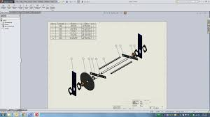 view layout alloy unit 5 drawings lesson 2 assembly drawing youtube