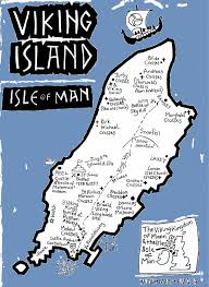 British Isles Map Map Showing Where The Isle Of Man Is The Isle Of Man Is An Island
