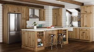kitchen cabinets with floors 7 hickory cabinets with wood floors ideas to create a