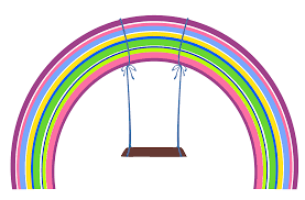 rainbow with swing png clipart gallery yopriceville high