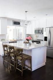 exciting galley kitchen designs with white cabinets images ideas