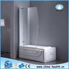 Shower Hinged Door Hinge Shower Screen Glass Shower Door Folding Bathtub Screen Jk118