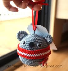 crafting this and that koala ornament
