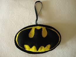batman logo felt ornament 13 50 via etsy lexifeltique felt