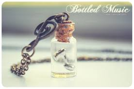 glass bottle necklace pendants images Bottled music bottle necklace vial necklace with music note mini jpg