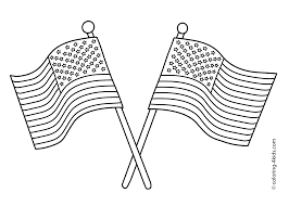 usa flag coloring pages getcoloringpages com