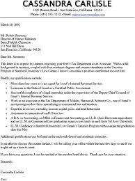 Cover Letter Critique sle cover letter accountant