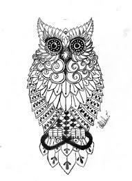 owl tattoo by aylenwolf on deviantart