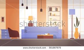 home interior vector living room interior home modern apartment stock vector 561867679