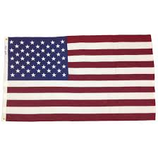 California State Flag Meaning Bulldog Cotton American Flag Sewn Made In The Usa