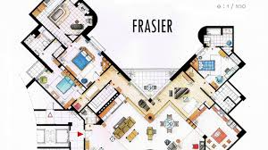 meticulous blueprints of seinfeld u0027s apartment and other famous on