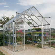 Palram Greenhouse Palram Snap U0026 Grow 8 U0027 X 8 U0027 Greenhouse Walmart Com