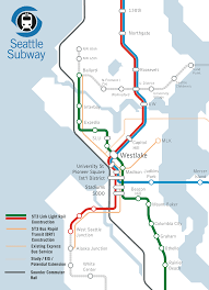 Seattle Link Map by Seattle Light Rail Station Map 2014 Wire Free Printable Images