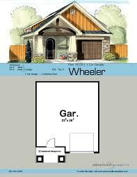 1 car garage dimensions craftsman style garage plan wheeler