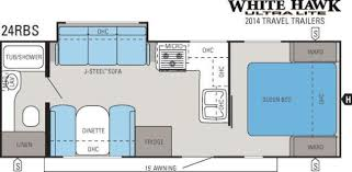 Jayco Caravan Floor Plans 2014 Jayco White Hawk 24rbs Travel Trailer Lacombe La Steves Rv