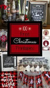 best 25 christmas printables ideas on pinterest farmhouse