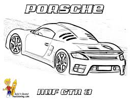 gusto car coloring pages and porsche eson me
