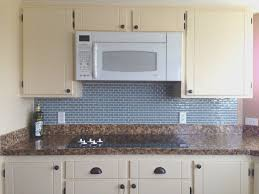 removing kitchen tile backsplash contemporary kitchen with glossy blue counter backsplash using
