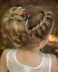 flower girl hair 35 fancy flower girl hairstyles for every wedding