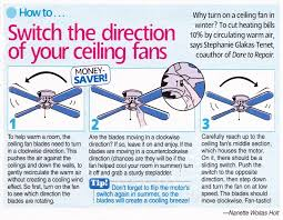 what direction for ceiling fan in winter direction of a ceiling fan in winter cak11 table and chairs ideas