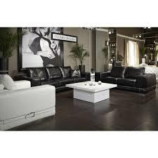 Michael Amini Living Room Furniture Michael Amini Ciras Leather Mansion Sofa Living Room Set